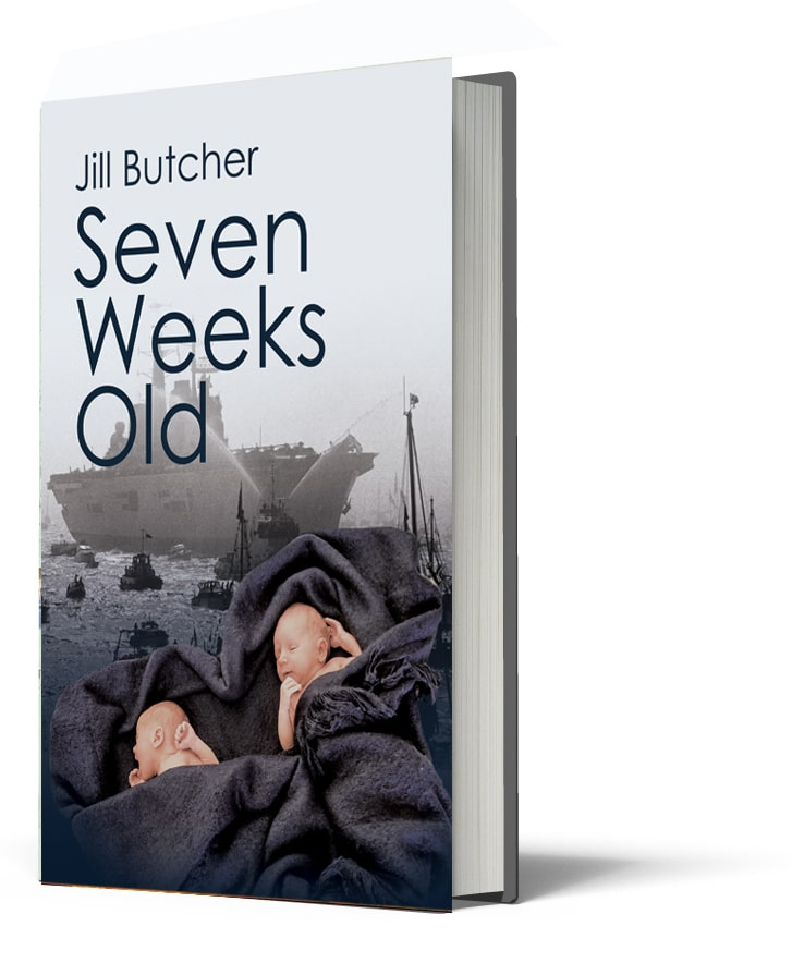 SEVEN WEEKS OLD_JILL BUTCHER published by Kindle Book Publishing